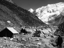 climbers camps island peak