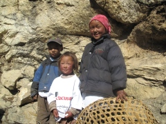 Sherpa kids at everest
