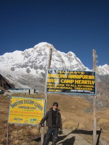 annapurna base camp entry point