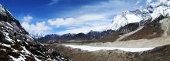 Himalaya landscape of Khumbu