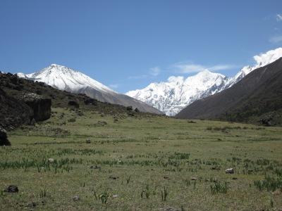 Langtang mountain seen at distance