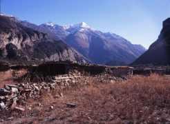 Pisang peak range