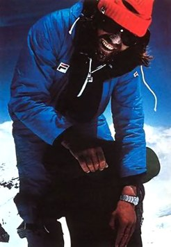 Messner during K2 Expedition
