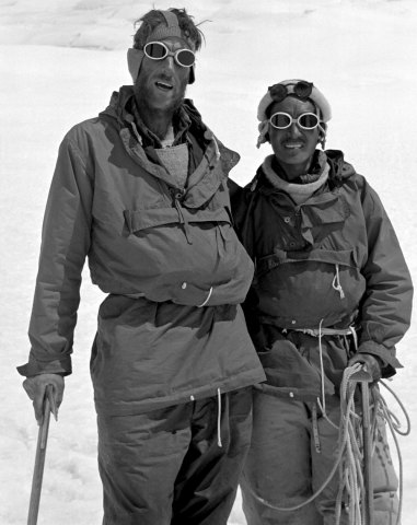 tenzing hillary everest expedition 1953