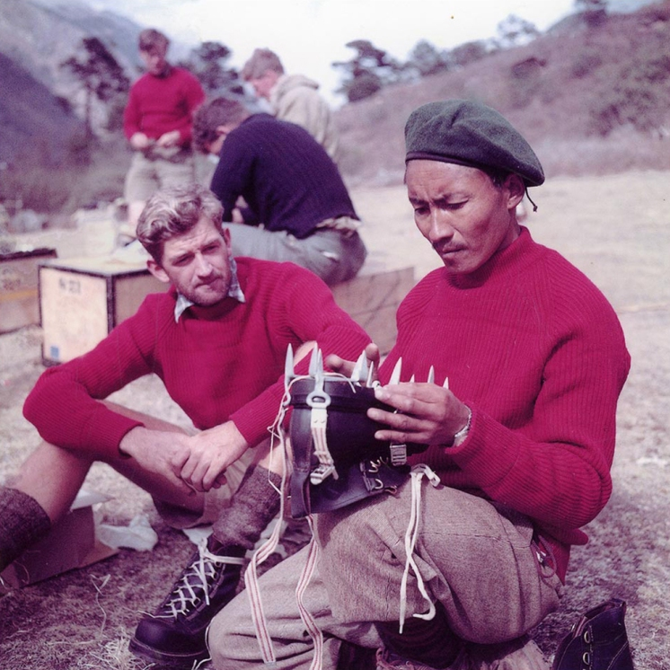 tenzing sherpa george lowe everest expedition 1953