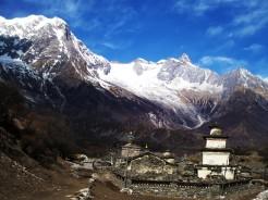 ethnic tamang village manaslu