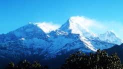 manaslu from distance