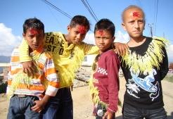 Children with Vermilion