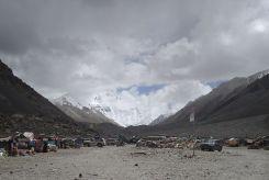 Everest base camp car stop