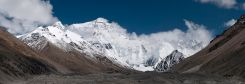 Everest seen from the Chinese side