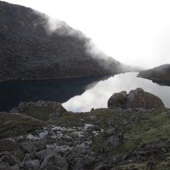 gosainkunda lake pre monsoon