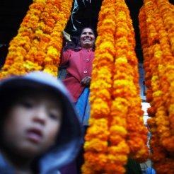Festival of Tihar in Nepal