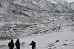 Dudh Pokhari during winter