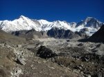 Gokyo valley trail