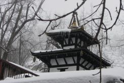Muktinath as seen during winter