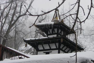Muktinath as seen during winter
