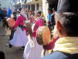 Bombo, a traditional Tamang culture