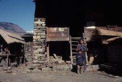 Local inhabitants Briddim village