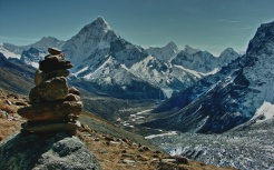 Cho La is a summit pass located 5,420 metres above sea level
