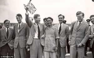 Everest expedition team of 1953