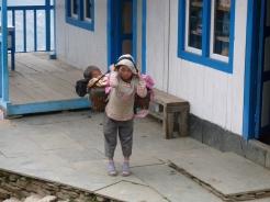 Sherpa kids khumbu valley