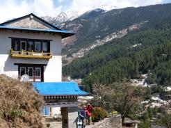 Sherpa village at everest