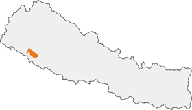 Bardiya national park map