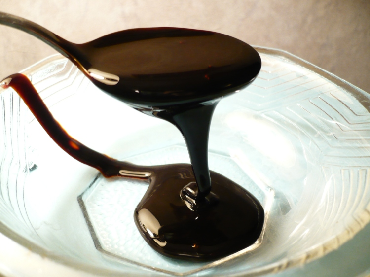 Chaku (molten molasses) syrup