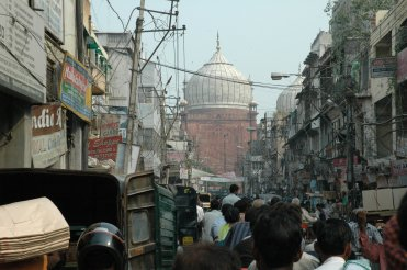 Chawri Bazaar (Chawri Market) in Delhi
