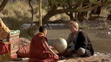 A Scene from Seven Years in Tibet