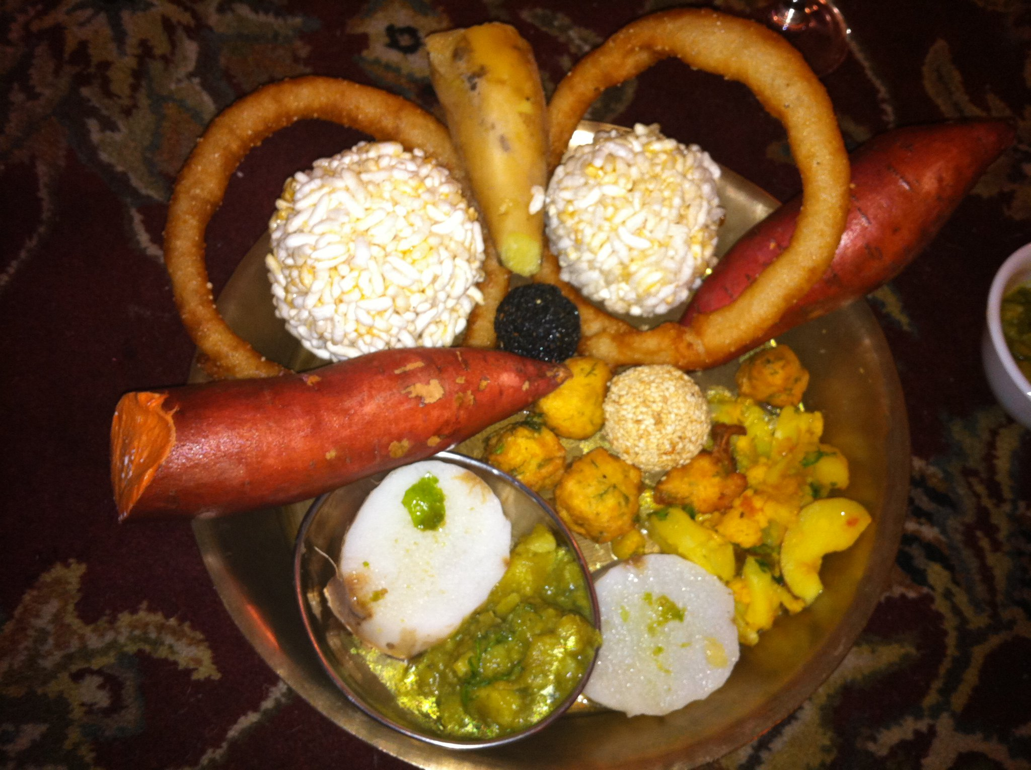 2048 x 1530 jpeg 430kB, Set of delicacies eaten during Maghe Sankranti