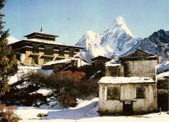 Tengboche Monastery in 1974