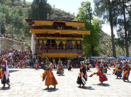 Chaam, Bhutanese masked dance