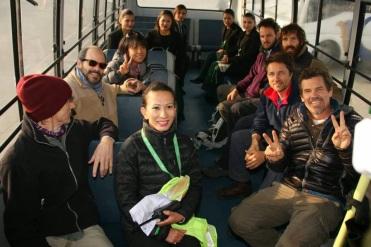 Josh Brolin and Jake gyllenhaal in Nepal
