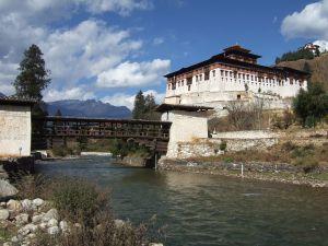 Rinpung Dzong, a popular Dzong in Paro, BHutan