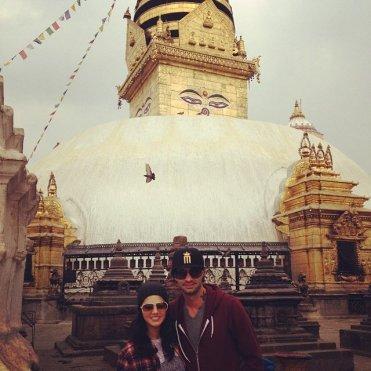 Sunny Leone with her husand Daniel Weber