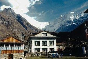 Tea house on Langtang trail