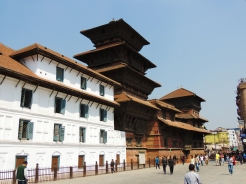 Basantapur palace is also known as Hanumandhoka palace
