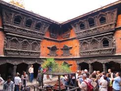Kumari bahal inside Kathmandu durbar square