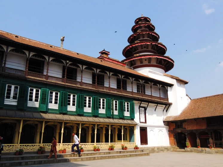 Taleju temple at Basantapur