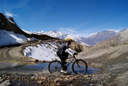Mountain Biking in the Himalayan
