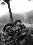 Ascending to Thorong La pass