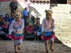 Chaam dance during Mani Rimdu