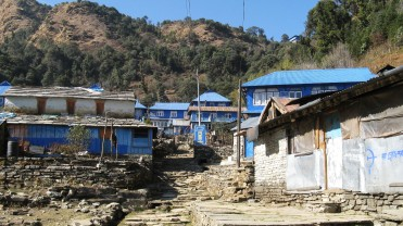 Tea houses at Ghorepani