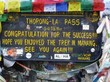 Thorong La Pass