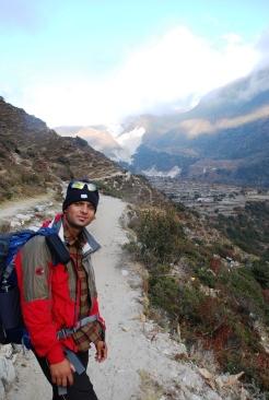 Ram during a trek