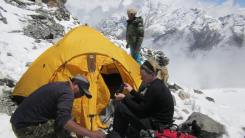 High camp at Mera Peak