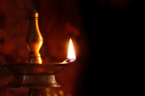 Lámpara hindú o Diyo
