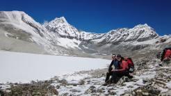 Ron and Marisa at Mera Peak