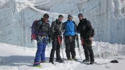 Pem with climbers at Mera Peak